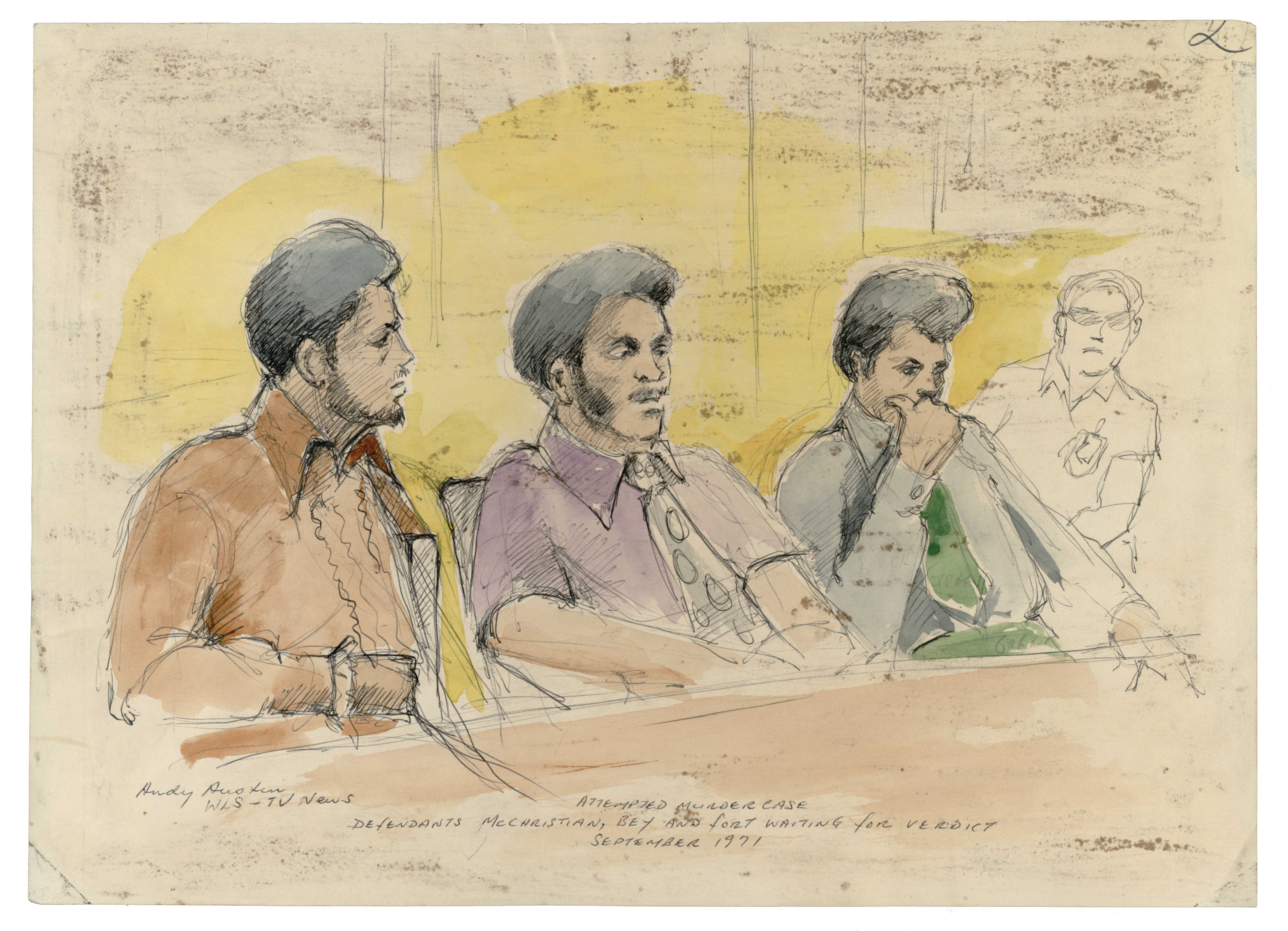 Blackstone Rangers Trial, 1971