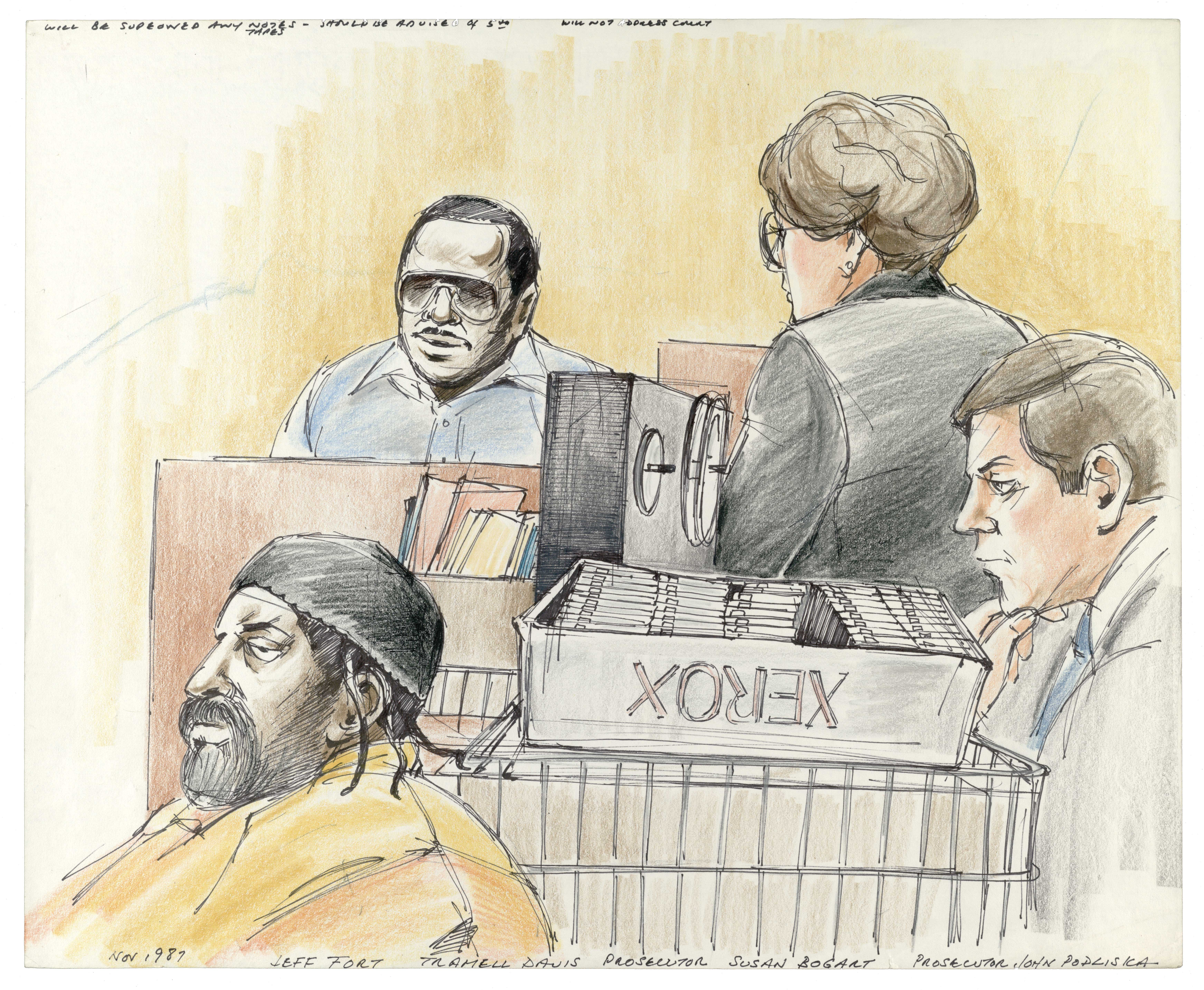 Jeff Fort Terrorism Trial, 1987