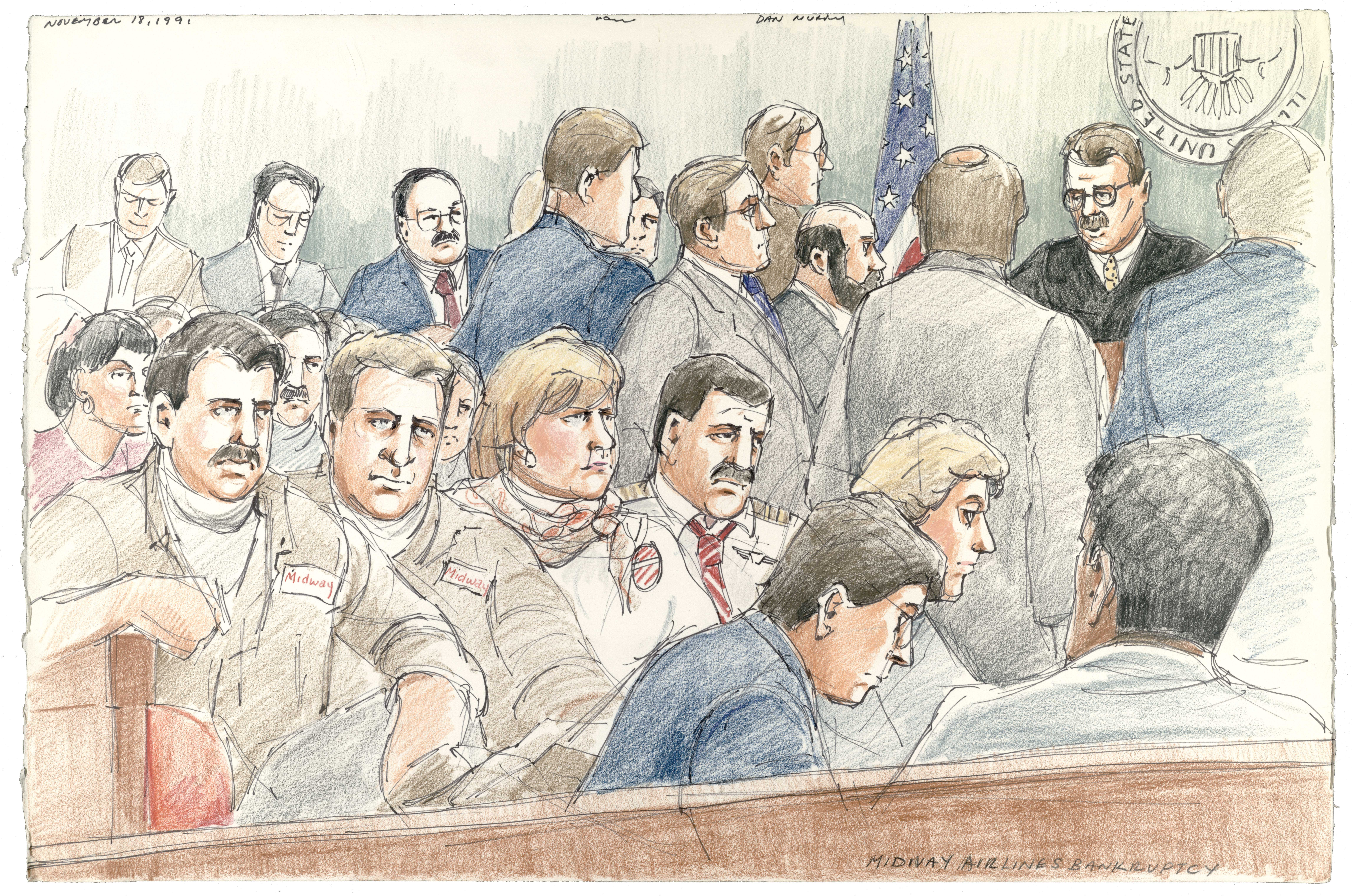Midway Airlines Bankruptcy Trial, 1991