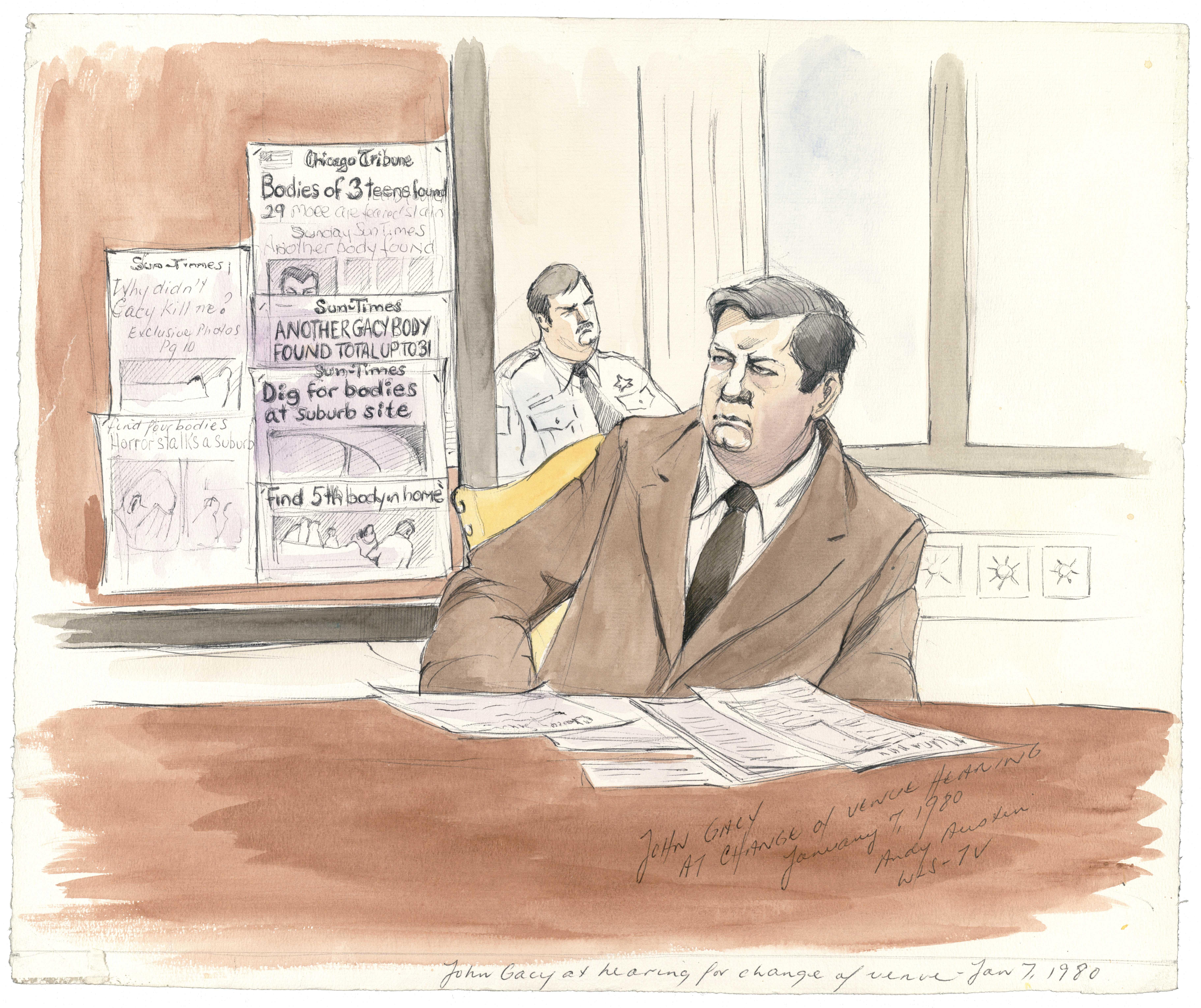 John Wayne Gacy Trial, 1980
