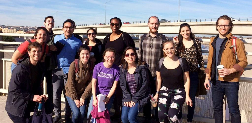 Twelve students and two CFJC faculty members volunteered with migrants preparing to seek asylum in Tijuana.