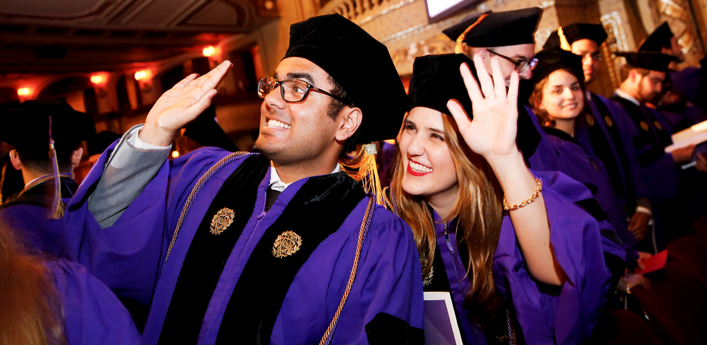 Northwestern Law 2017 graduates