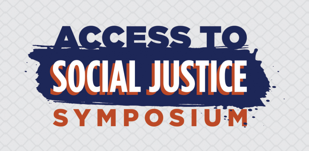 Access to Social Justice Symposium logo